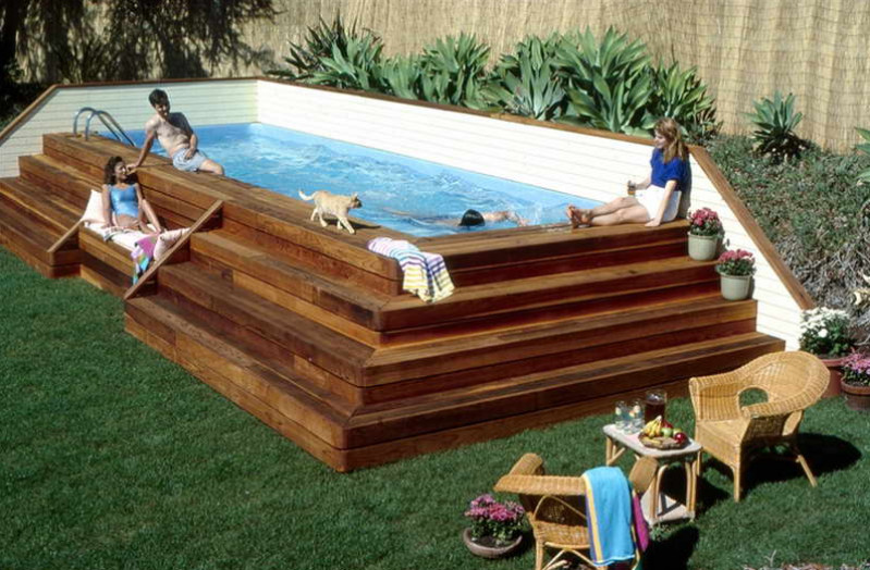 Install above ground pool inground pool design ideas for How to maintain an above ground swimming pool
