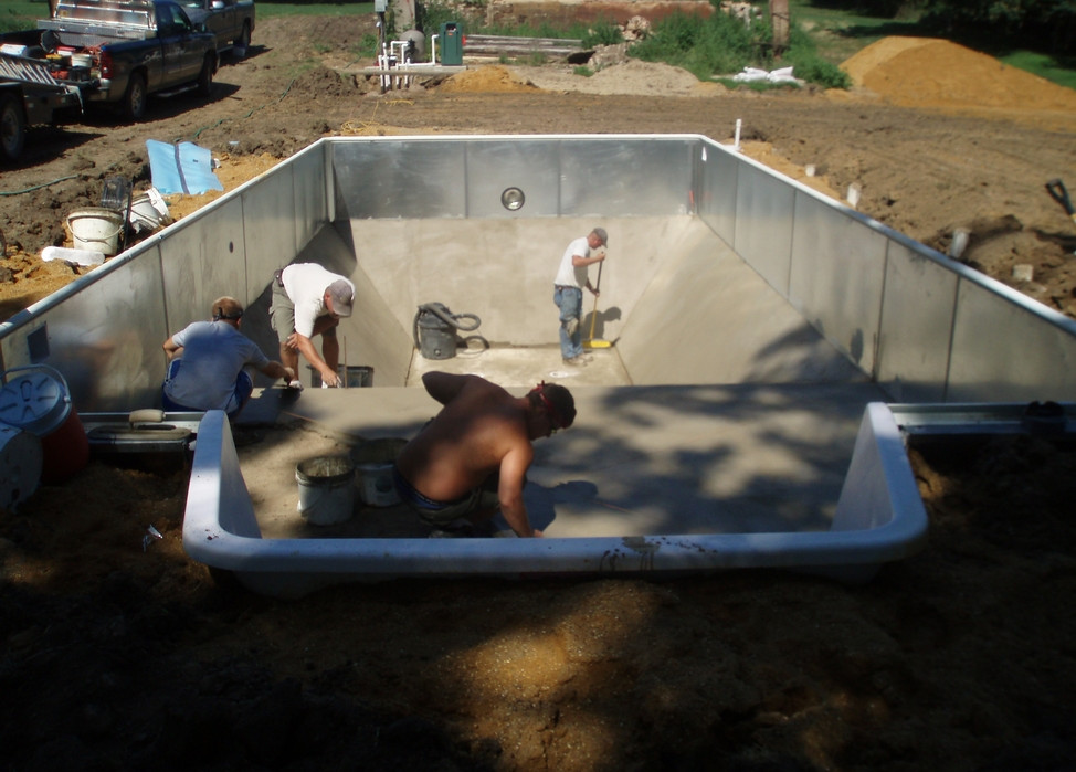 Installing Above Ground Pool Inground