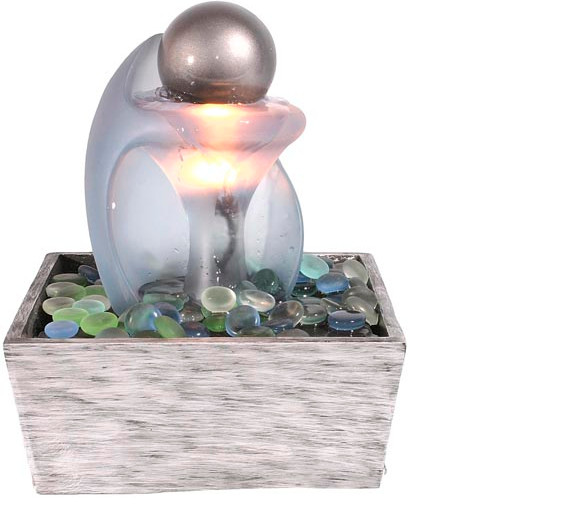 Lighted Tabletop Fountains