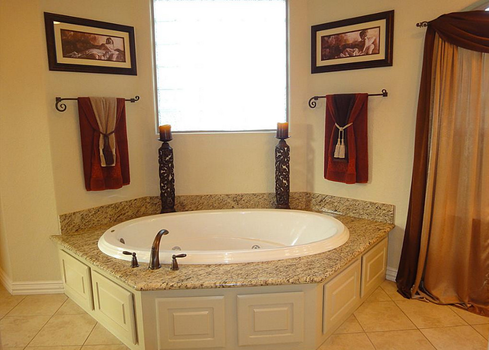 Bathroom jacuzzi ideas with decoration and beautification for Bathroom jacuzzi decor