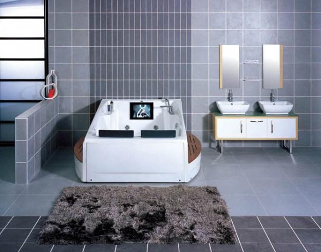 modern bathroom jacuzzi
