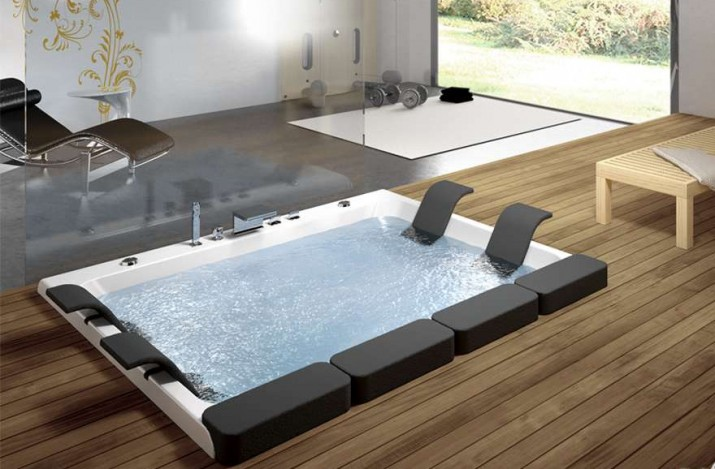 Modern Outdoor Jacuzzi Designs