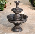 Outdoor 3 Tier Fountains