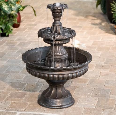 Outdoor 3 Tier Fountains