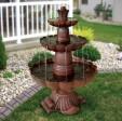 Outdoor Garden Water Fountains Ideas