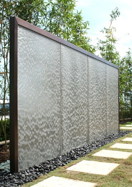 Outdoor Wall Fountain Designs Pool Design Ideas