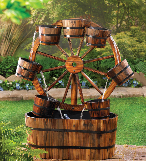 Outdoor Yard Water Fountain Decor