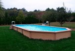 Pictures of Semi Inground Pools