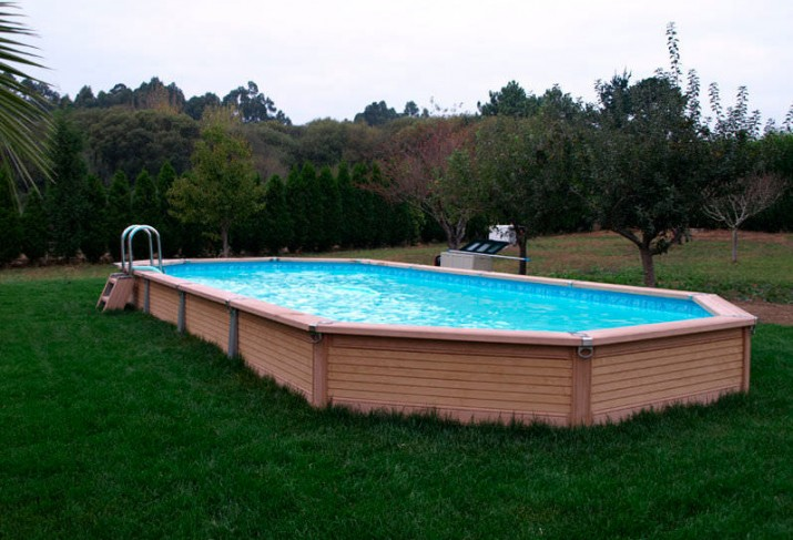 Pictures of Semi Inground Pools