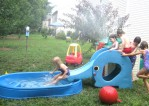 Plastic Pool With Slide