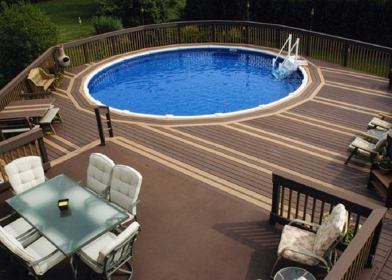 Swimming Pool Ideas With Deck Pool Deck Ideas For Great Decoration And Styling Of Swimming Pools