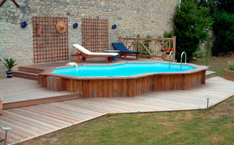pool decks for inground pools pool design ideas