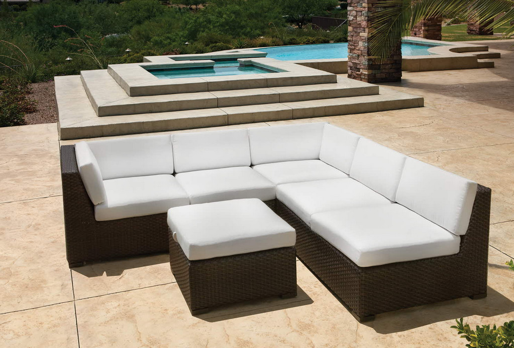 Pool Furniture Ideas ledge lounger in pool furniture is designed for in water use on your pools tanning Pool Furniture Design Ideas