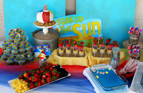 Fun And Fabulous Teen Pool Party Ideas The Perfect Party For Your Super Teen! A pool party is a great way to soak in the sun, beat the heat, and have a rockin' good time. It's also one of the easiest theme parties to put together on short notice.