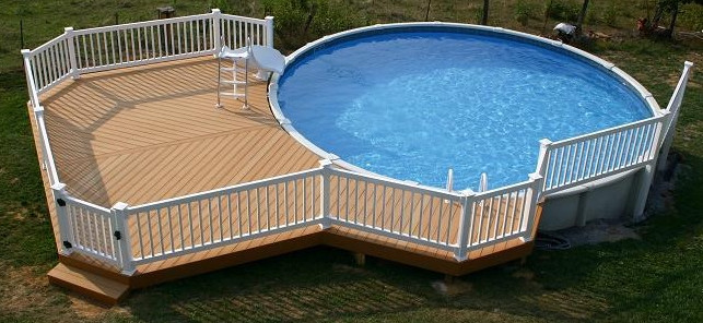 Pool Slide For Above Ground Pool Pool Design Ideas