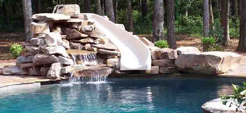 Pool Water Slides for Home