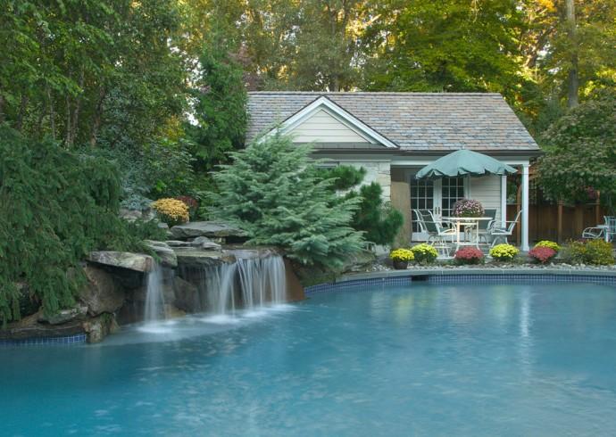 Pool Waterfalls Photos