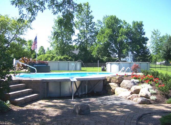 Put Above Ground Pool Inground