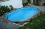 Semi Inground Pool Pictures