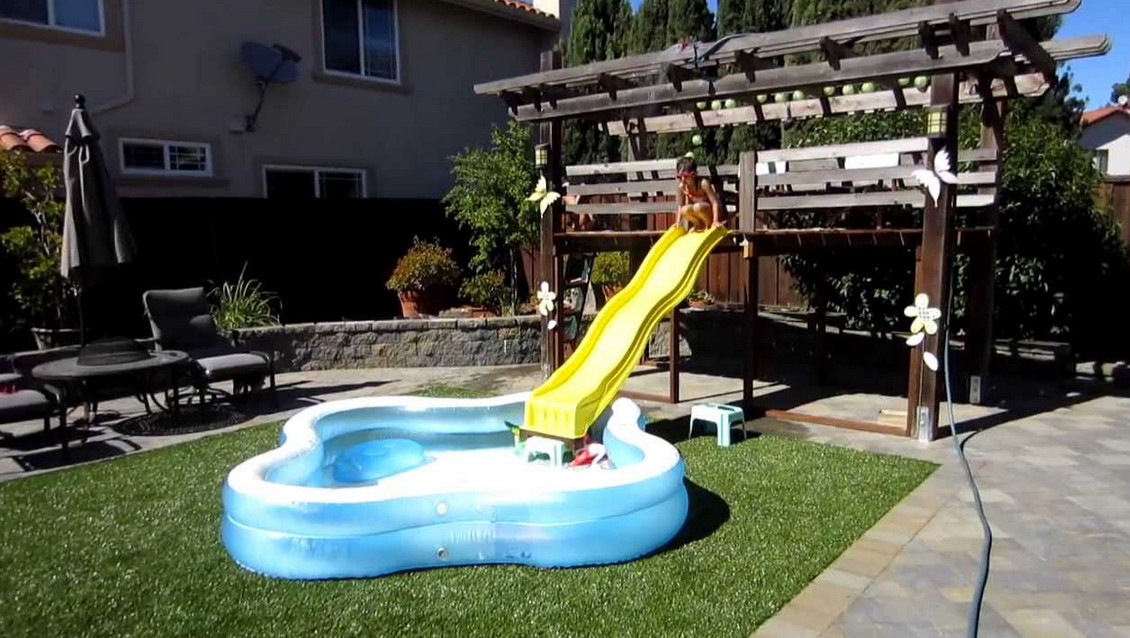 slides for above ground swimming pools - Diy Above Ground Pool Slide