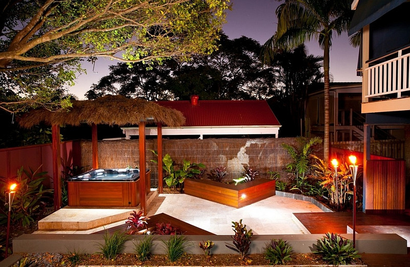 Small backyard designs with jacuzzi pool design ideas Small backyard designs pictures