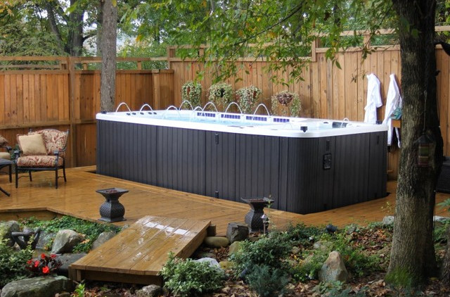 Small Backyard Spa Ideas