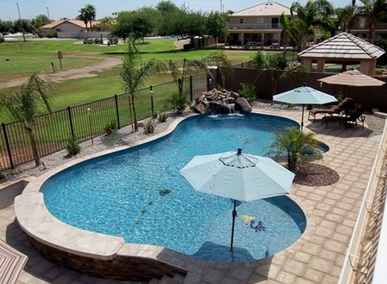 Swimming pool shapes and design ideas pool design ideas for In ground pool plans