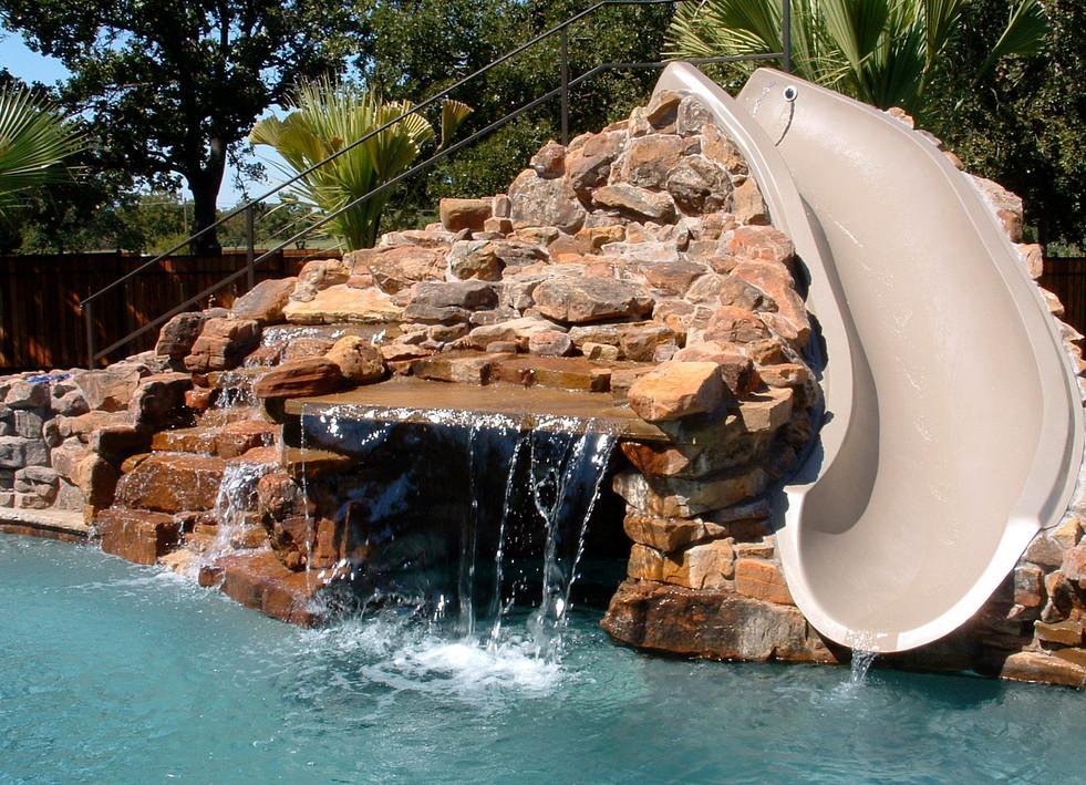 Swimming Pool Slides for Inground Pools