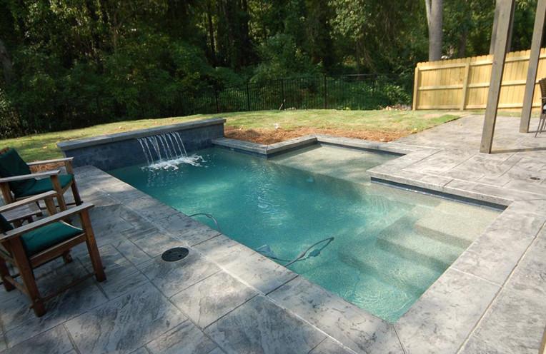 Swimming Pool Waterfall Ideas