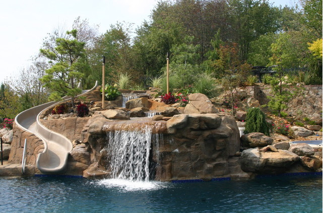 Pictures of Swimming Pools With Waterfalls Swimming Pools With Waterfalls