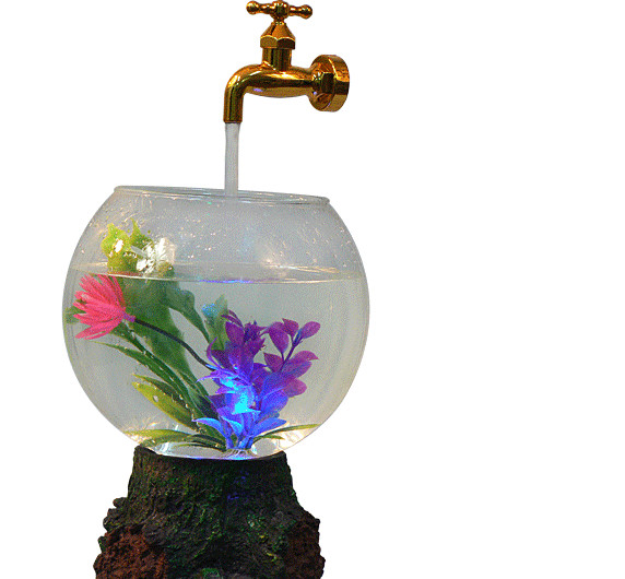 Tabletop Fountains With Lights