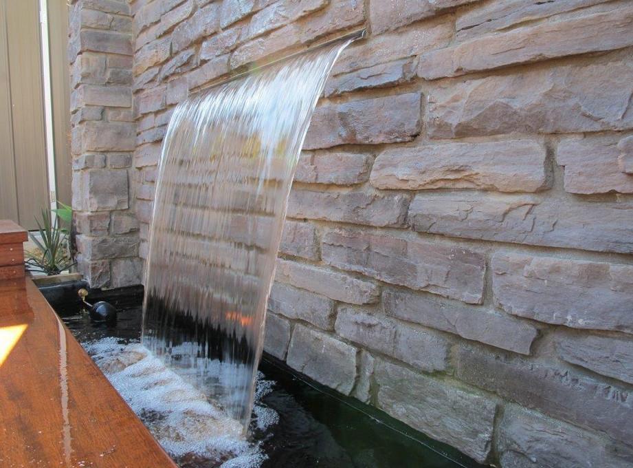 Water Wall Fountain Diy