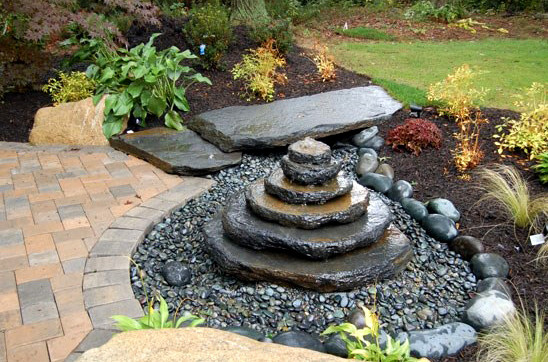 Stunning Garden Pond Waterfall Ideas Gallery Home Design Ideas