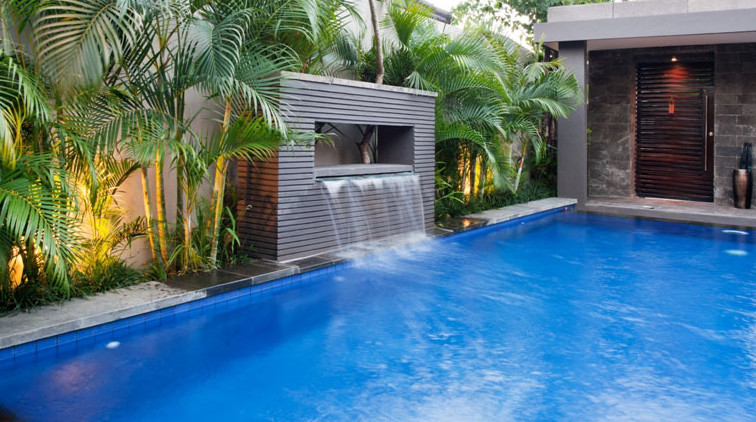 Waterfalls For Inground Pools | Pool Design Ideas