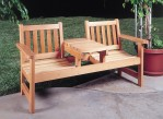 wooden patio furniture ideas