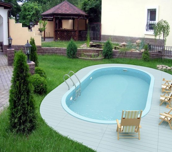 Backyard Pool House Designs