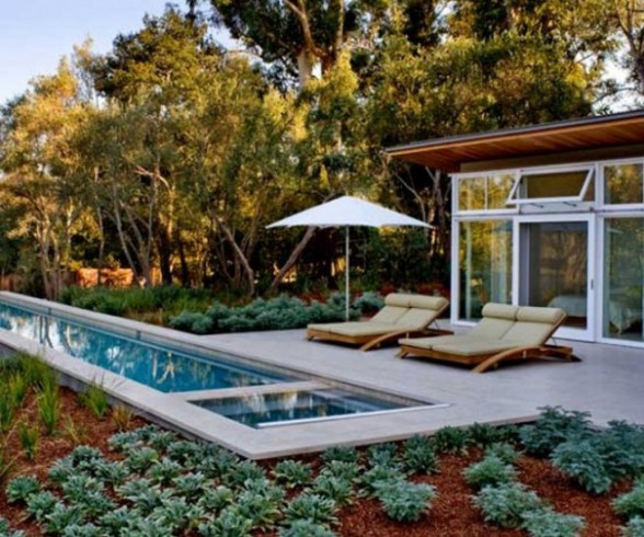Pool Guest House Designs