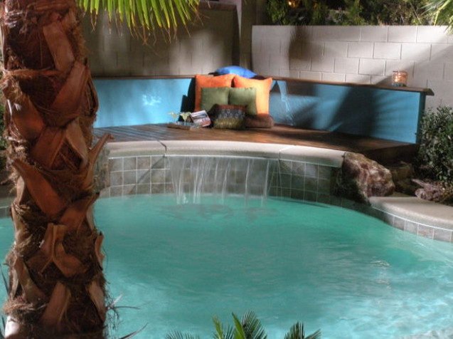 Simple Pool House Designs