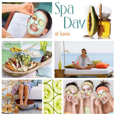 25 Ways to have a Spa Day at Home