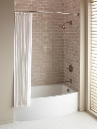 4 ft Bathtub Shower Combo