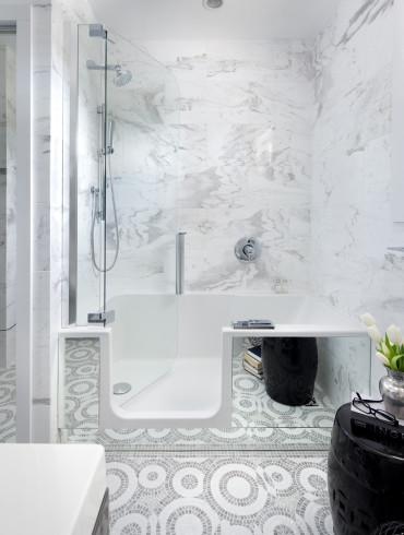 Bathtub and Shower Combo Ideas