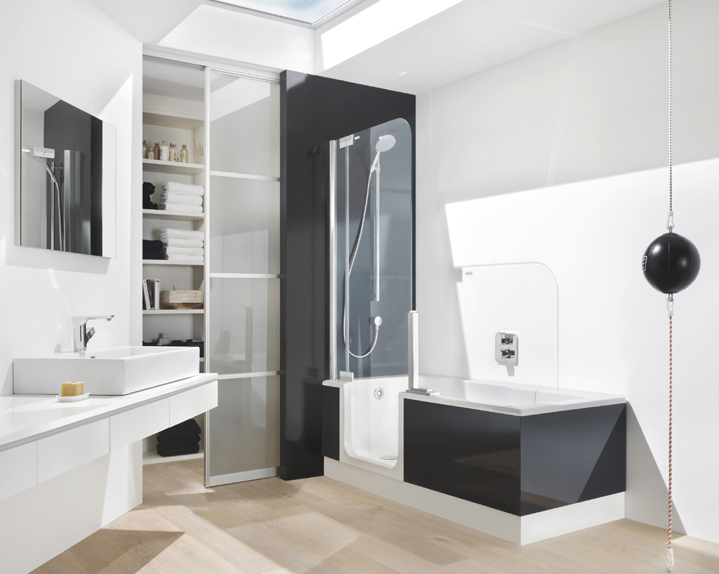 Bathtub and Shower Combo