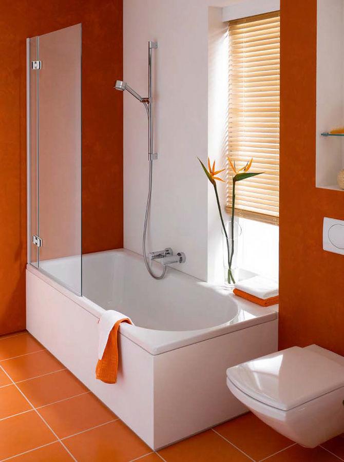 Corner Shower Tub Combo