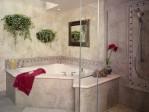 Corner Tub and Shower
