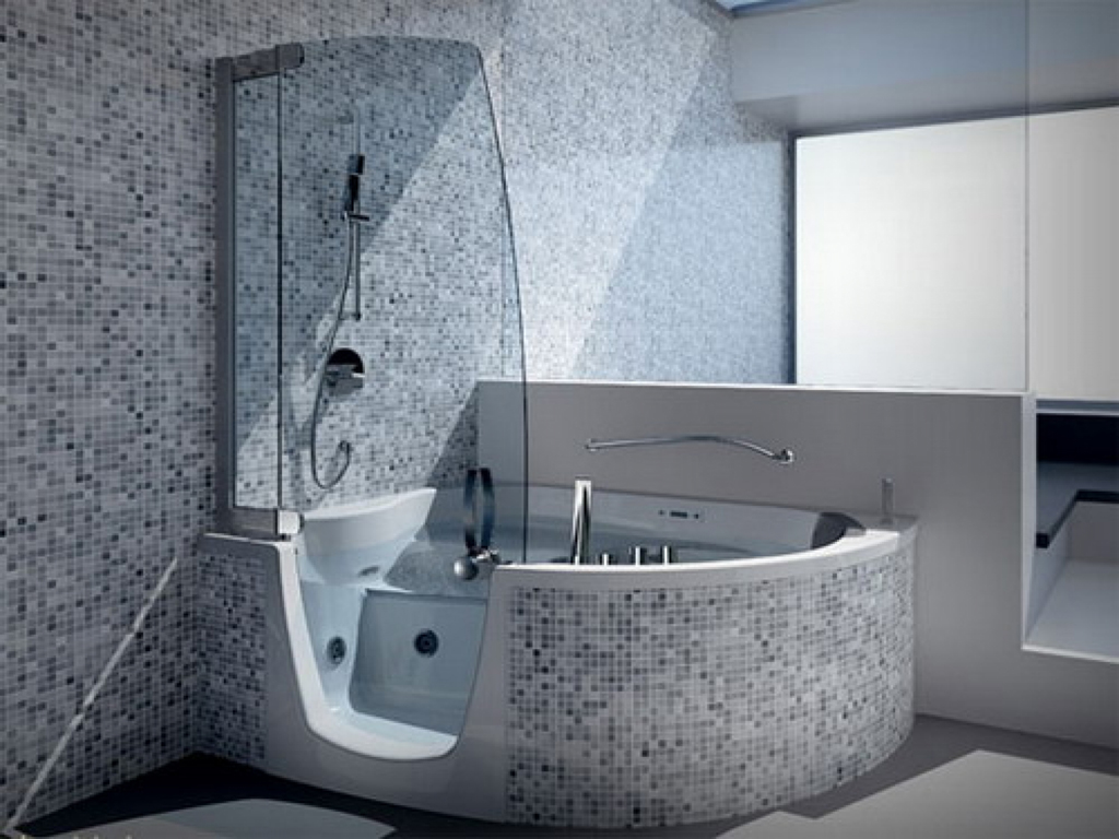 Corner Tub Shower Combo Ideas