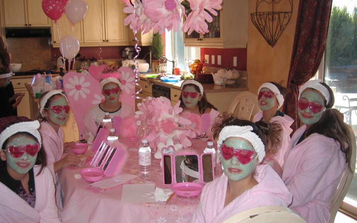 DIY Kids Spa Party