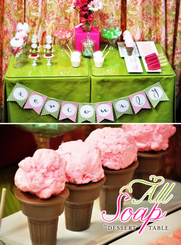 Girl Spa Birthday Party Ideas