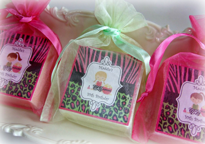 Girl Spa Party Favors