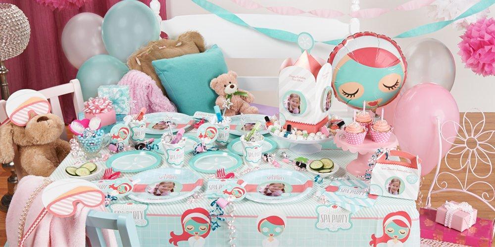 Girl Spa Party Supplies