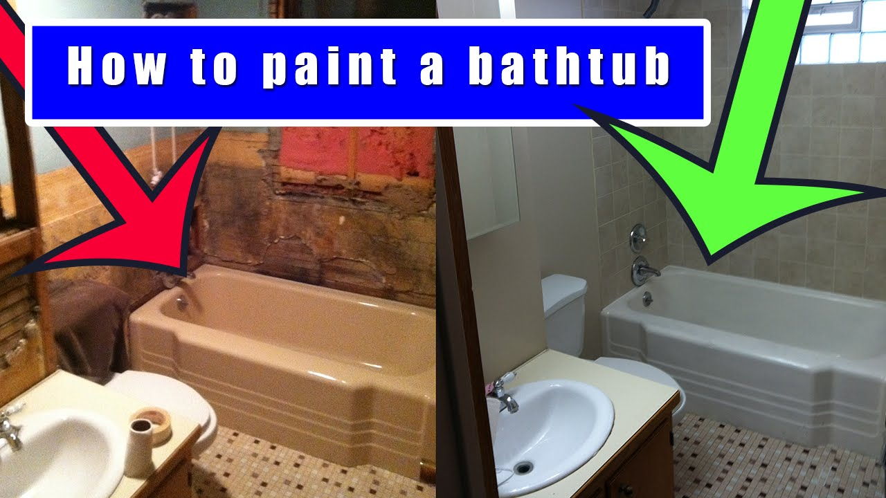How to Refinish a Bathtub Yourself